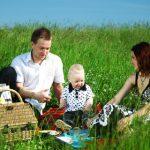 Отдых на природе с маленьким ребенком