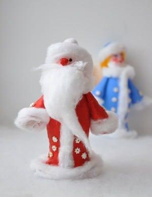 Дед мороз своими руками для детского сада фото