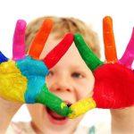 Развивающие игры для детей: учим цвета