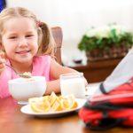 Готовим завтрак для школьника