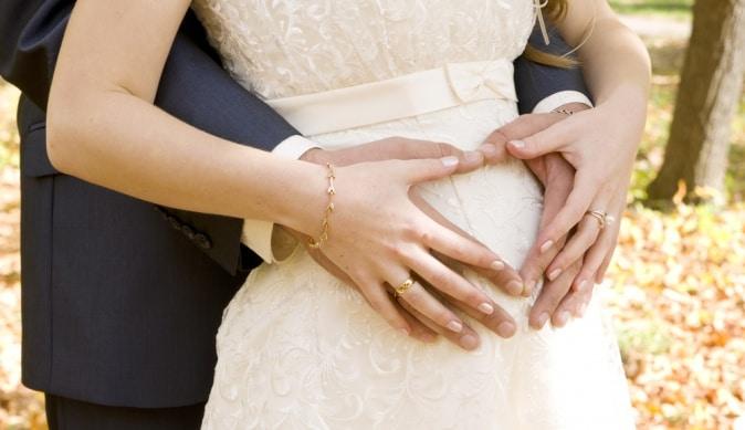 Свадьба с беременной невестой
