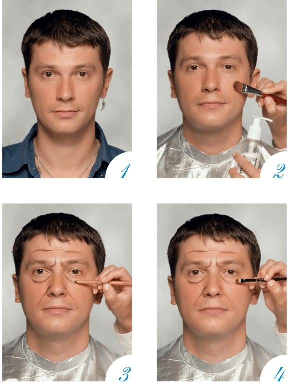 Как сделать фото лицо на руках 621