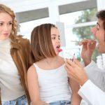 Если болит горло: скарлатина у детей