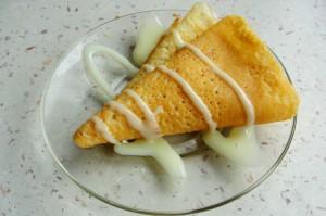 Рецепт блинов с бананом