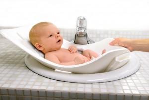 ванночка, ребенок, новорожденный, купание
