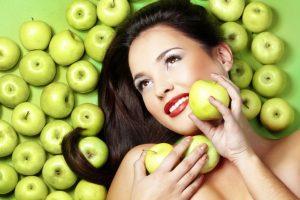 Яблочные маски для кожи
