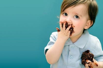 Шоколад в рационе ребенка