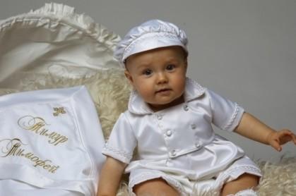 одежда на крещение
