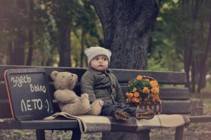 осень, ребенок, игрушки, мальчик, дети