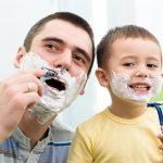 Как научить сына бриться