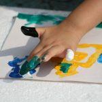 Новогодние пальчиковые рисунки: идеи
