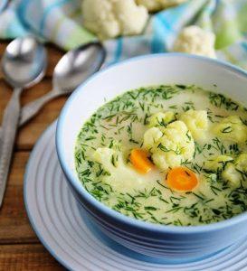 5 рецептов  постных супов к Великому посту