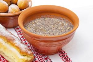 Рецепт пшеничной кутьи с орехами и цукатами