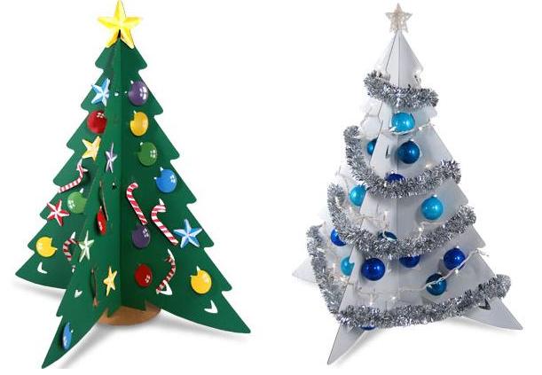 Как делать новогодние елки своими руками
