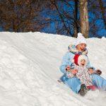 8 зимних уличных развлечений с детьми