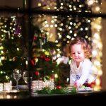 Новогодний стол для детей до 3 лет: салаты