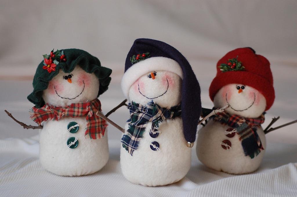 Поделки снеговика на новый год 2016 своими