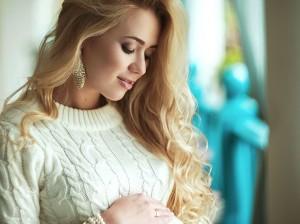 Изменение типа волос во время беременности