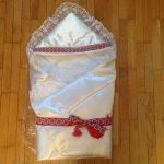 Блог читателя: мой отзыв о конверте на выписку с вышивкой