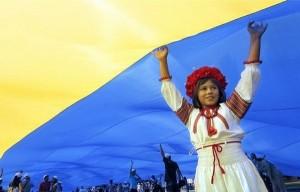 україна, прапор, діти, дівчинка