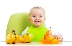 банан, банани, дитина