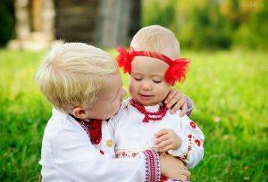 діти, україна, вишиванка