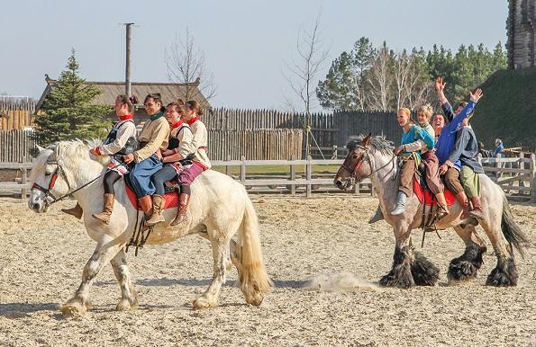 київська русь, парк, кони, казак, козак, украина