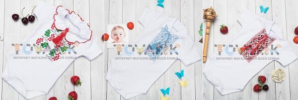 Бодіки-вишиванки для малюків (Інтернет-магазин Tovarik.com.ua)