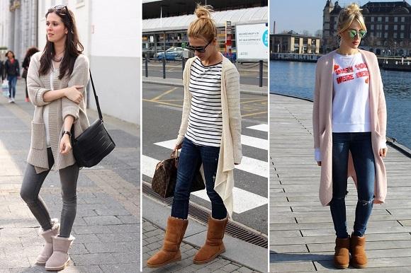 угги, мода, осень, обувь