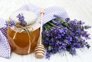 лаванда, мед, травы, народные средства