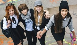 школа, мода, дети, подростки