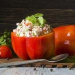Рецепт фаршированих перців із сиром