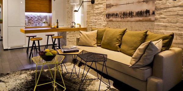 интерьер, мебель, дом, диван