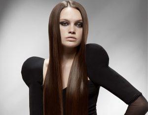 Прямые волосы