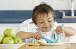Завтрак ребенка