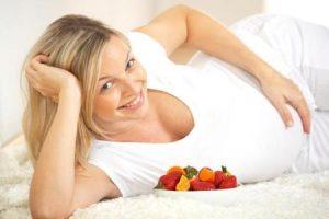 Питание и отеки во время беременности