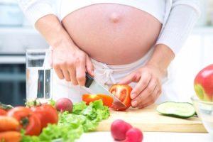 Опасные продукты питания в период беременности