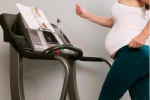 Физические нагрузки во время беременности
