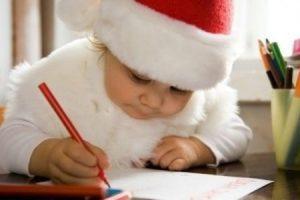 Пишем с ребенком письмо Деду Морозу