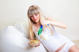 Правильный завтрак во время беременности