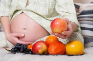 Сколько фруктов и овощей есть при беременности