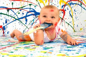 Как сделать пальчиковые краски в домашних условиях