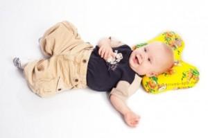 Ортопедическая подушка для ребенка до года