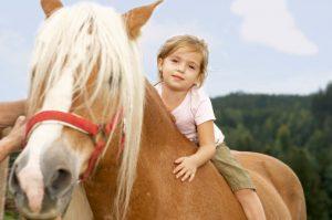 Верховая езда и конный спорт для ребенка