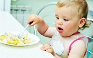 Картофель в рационе ребенка