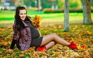 ФОТО: модная одежда для беременных осень-зима 2013/2014