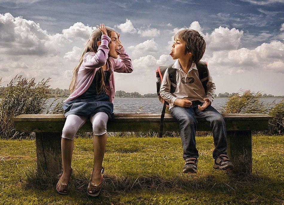 Никого, смешные картинки о жизни для детей