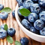 ягоды, черника, продукты