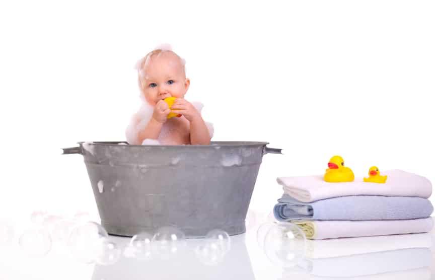 Рецепты успокаивающих ванн для ребенка