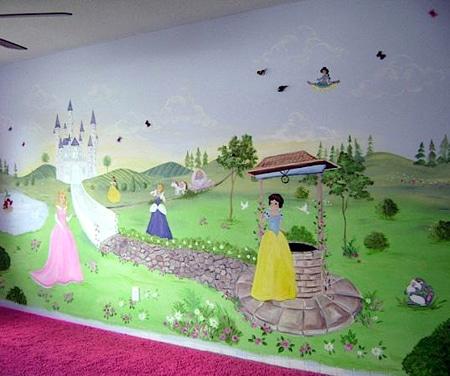 Как оформить комнату для принцессы